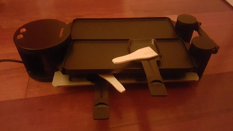 raclette / goutmet set