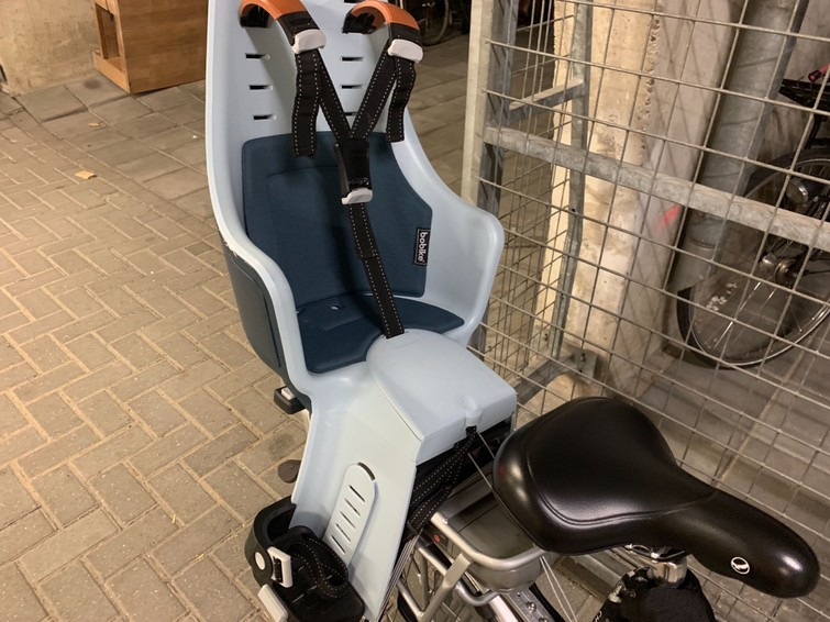 elektrische fiets met kinderzitje