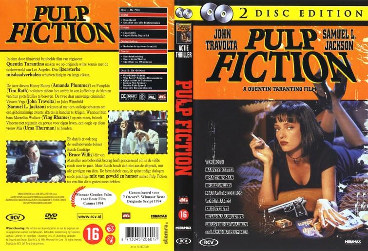 Pulp Fiction (John Travolta & Uma Thurman) 1994. DVD