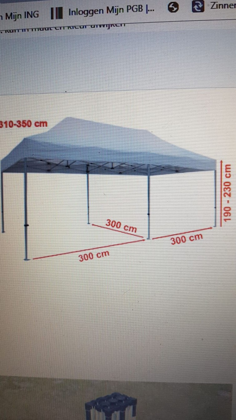 Grote partytent