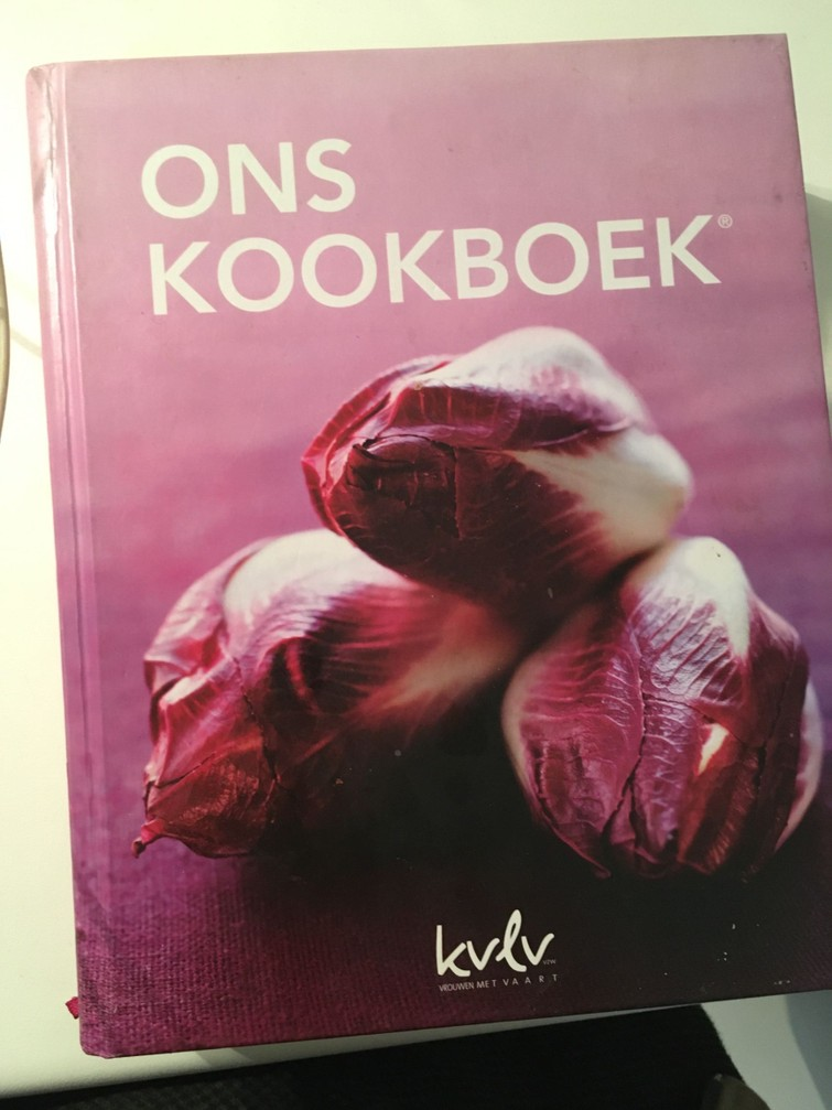 kookboek van de kvlv