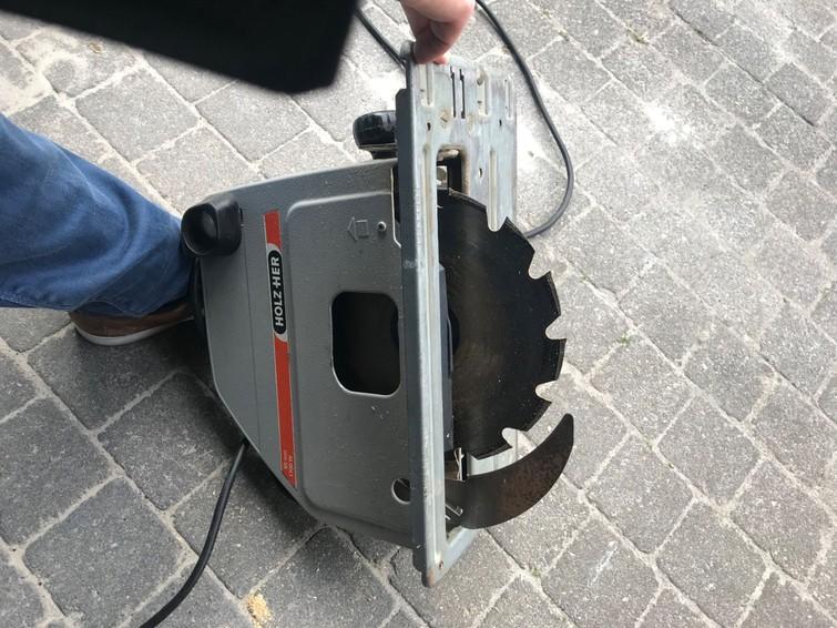 Elektrische zaagmachine (cirkel zaag)