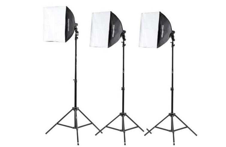 Softboxen Set – 3x (50x50cm)