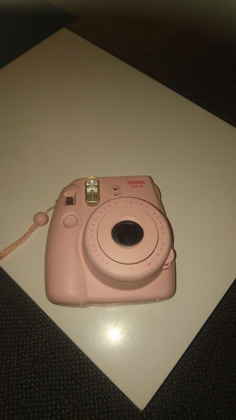 Instax instant camera (polaroid achtig)