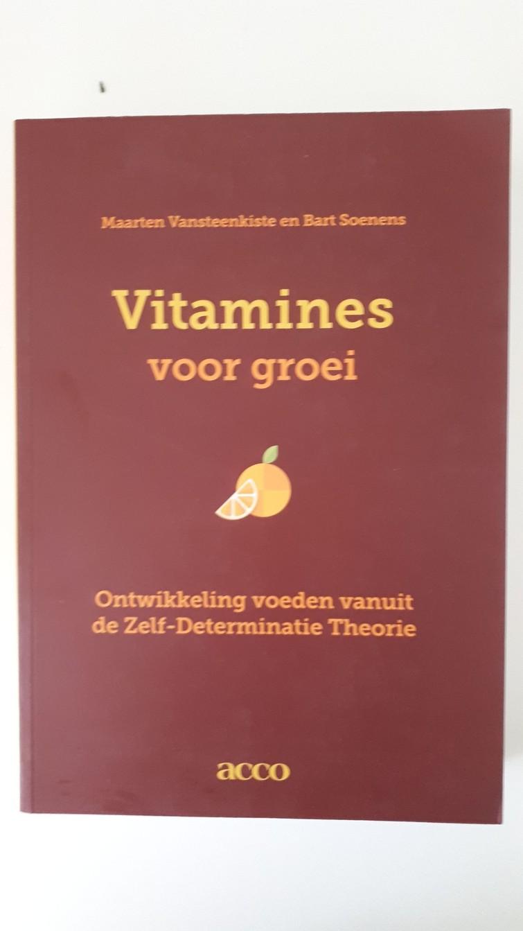 Boek - Vitamines voor groei - Vansteenkiste & Soenens