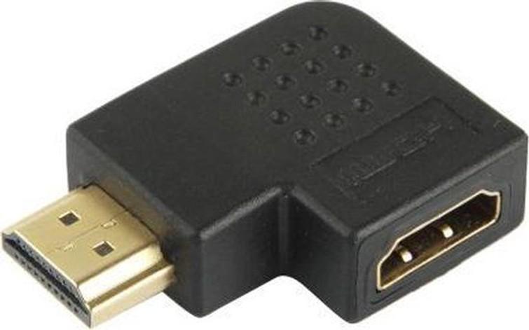 HDMI knie koppelstuk 90 graden - Computer onderdelen & Accessoires