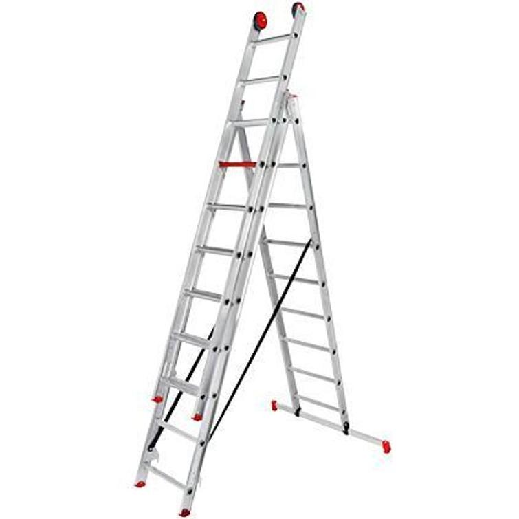 Altrex ladder 3 x 9 treden