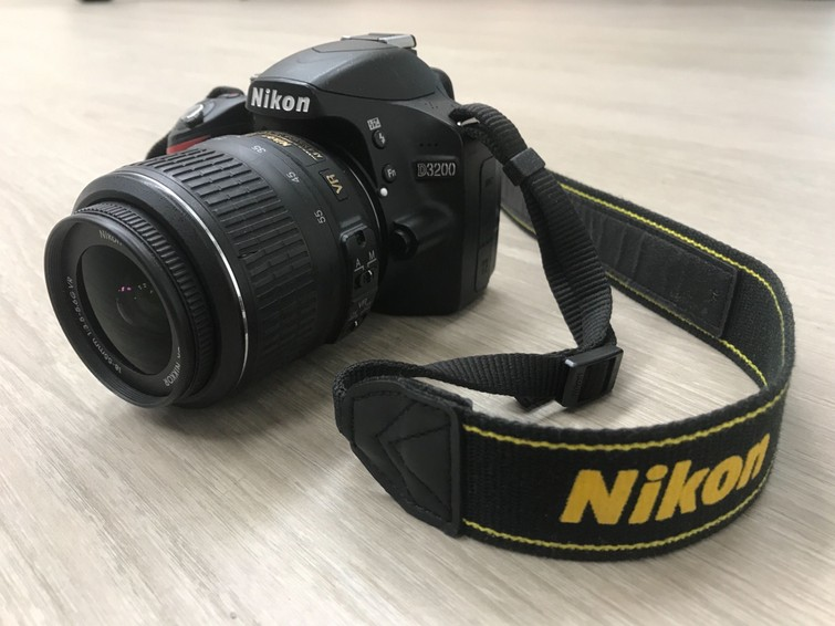 Nikon D3200 spiegelreflex camera
