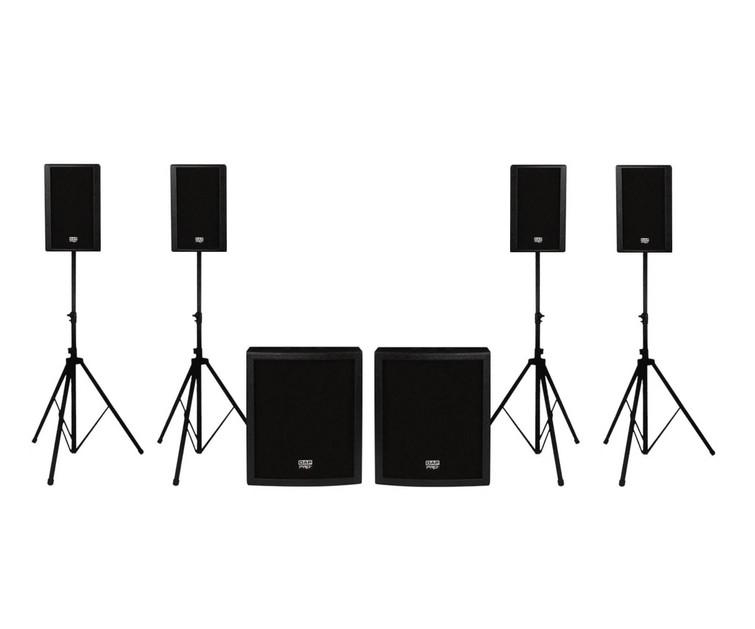 Dap Clubmate 15 dubbele professionele speakersset te huur
