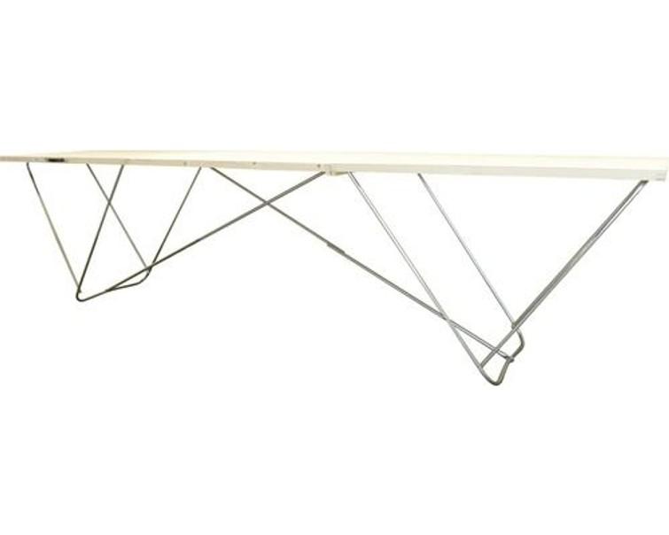Houten behang tafel