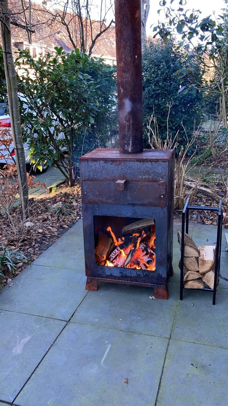 Pizza hout oven