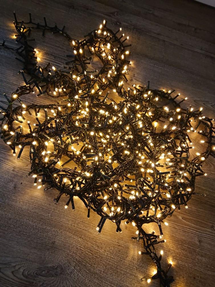 Kerstverlichting binnen en buiten