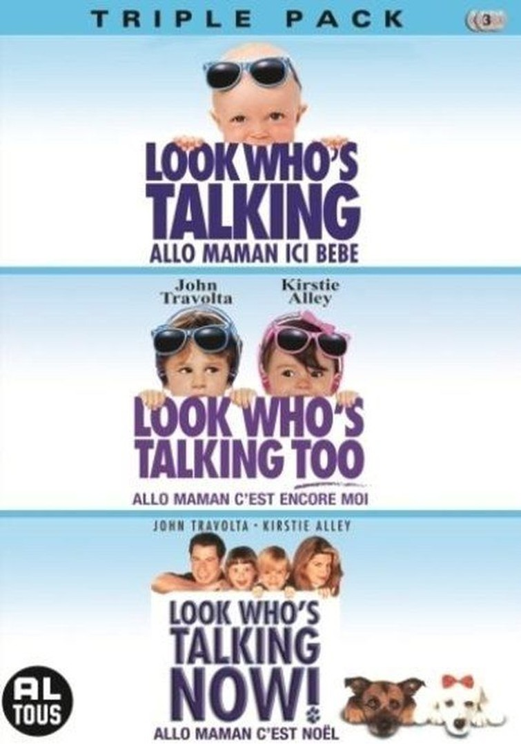 Look Who'S Talking Triple (Kristie Alley & ( John Travolta) 5 November 1993. - DVD