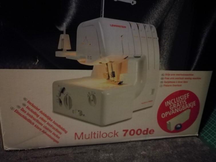 Lewentstein multilock 700 de overclock naaimachine
