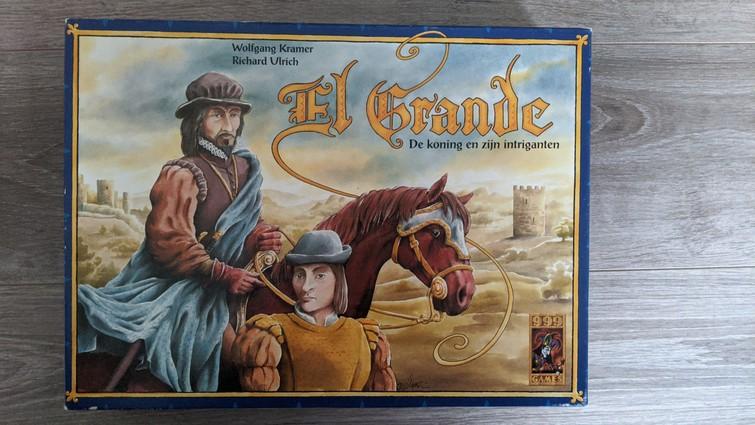El Grande strategisch en tactisch bordspel