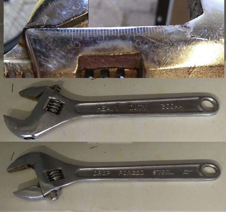 verstelbare moersleutel ('bahco')