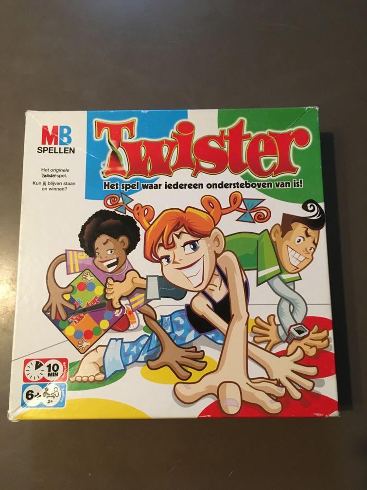 Het spel Twister