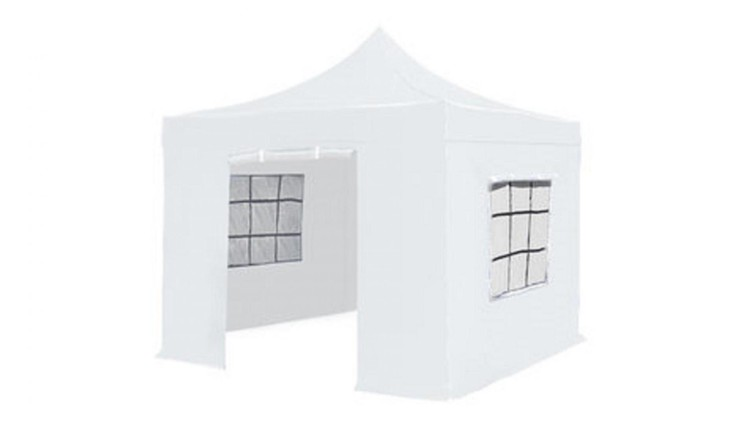 Partytent 3 x 3 x 3 easy up wit