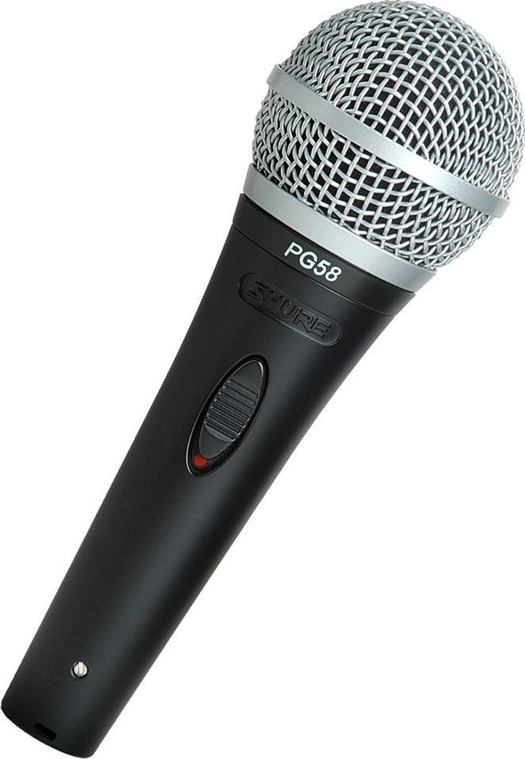 Shure PG58 microfoon
