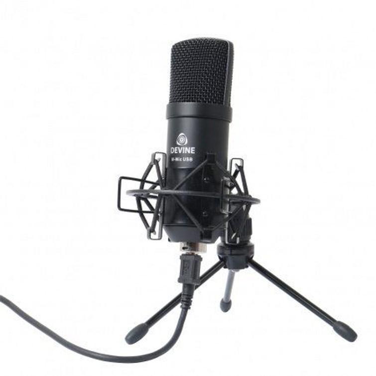 devine microfoon usb met popfilter