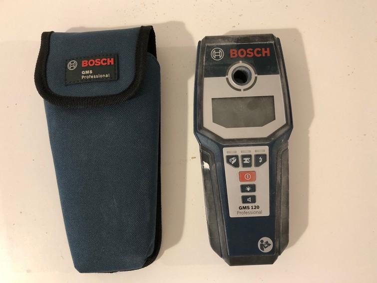 Professionele  Leidingzoeker Bosch GMS 120 professional