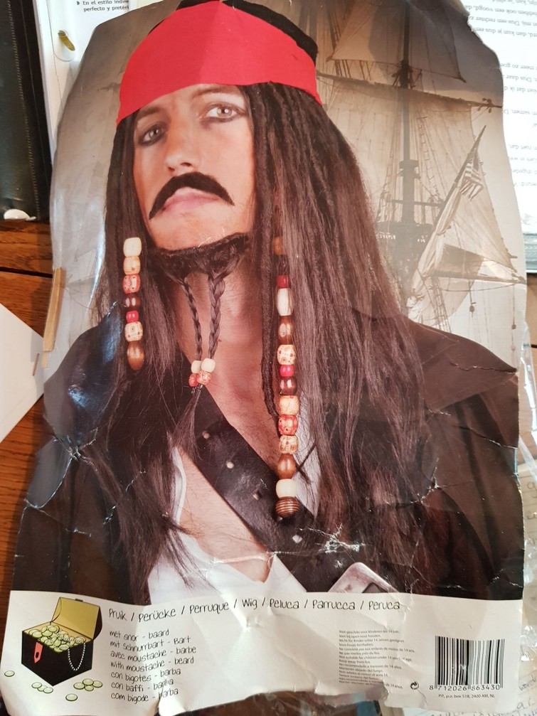 Piratenpak / accessories film personage Jack Sparrow