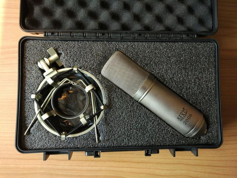 Condensator (studio)microfoon