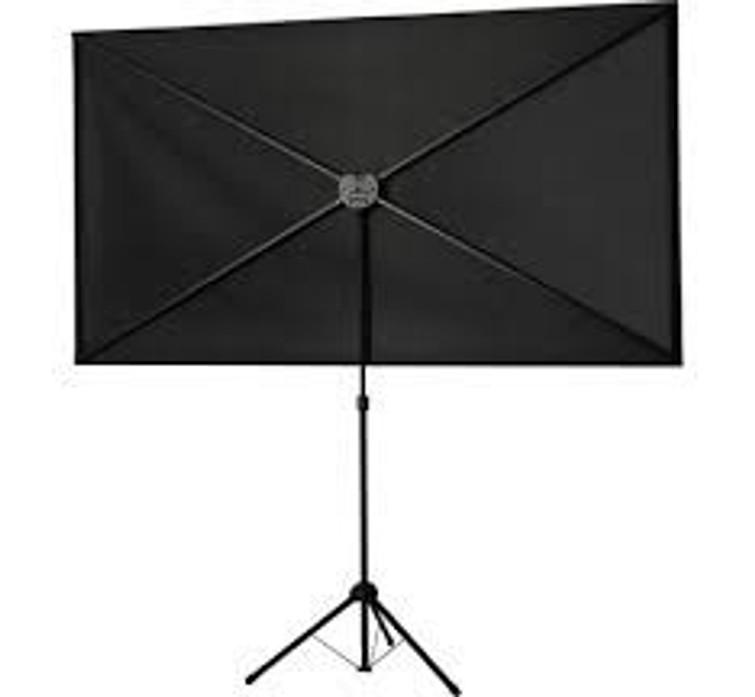 Projectiescherm 194 x 121 cm