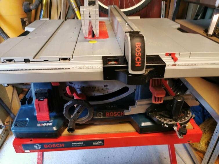 Professionele zaagtafel Bosch blauw gts 10 xc 2100 watt
