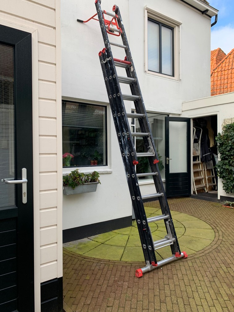 3-delige ladder (uitschuifbaar) 7,5 m