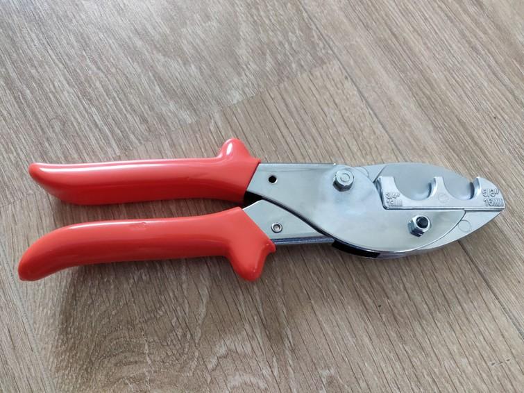 Buizenschaar voor pvc Ø 16 mm en 19 mm