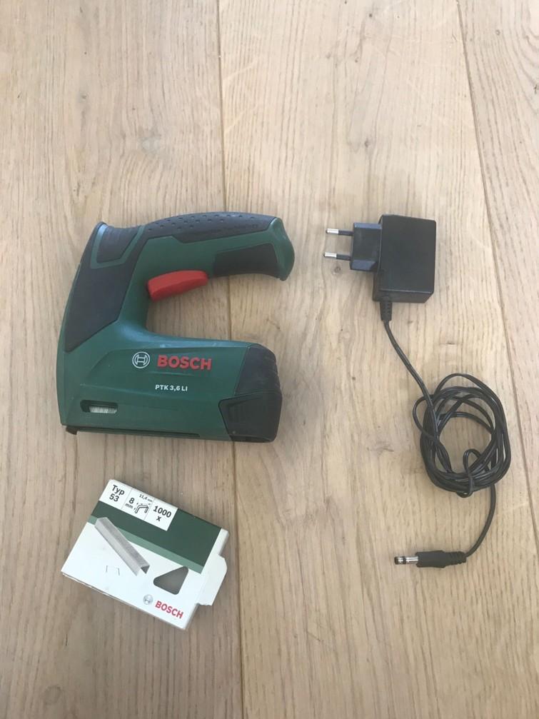 Bosch nietmachine/tacker
