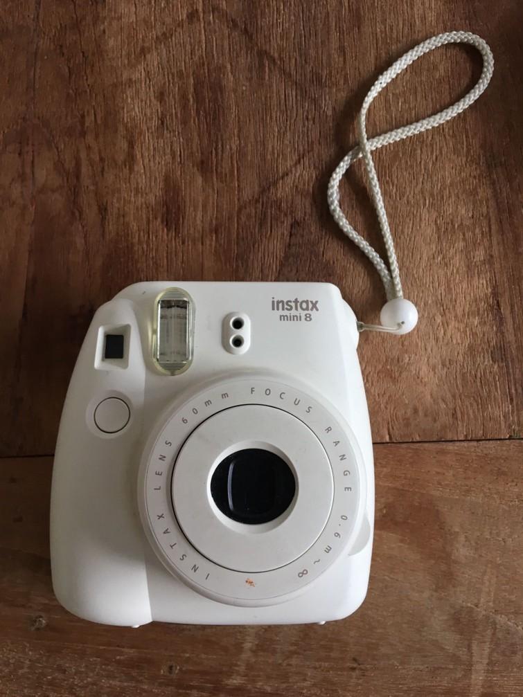 Polaroid camera instax
