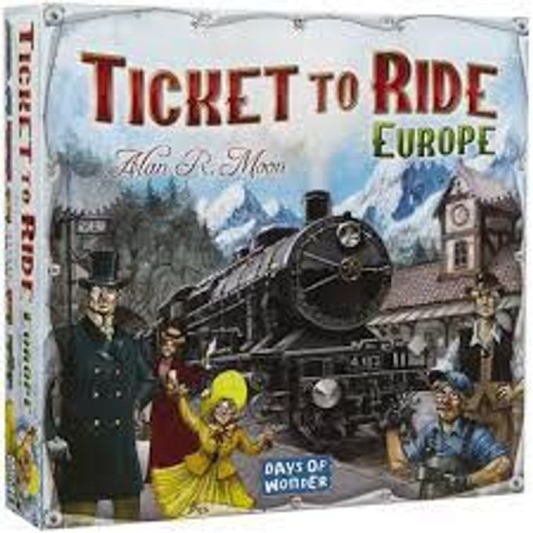 Ticket to Ride bordspel