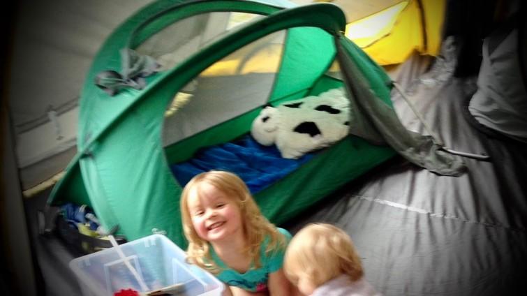 kinderbed outdoor / indoor / camping