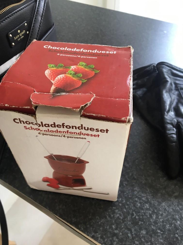 Chocoladefondueset