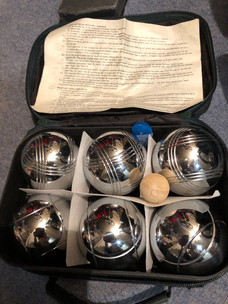 Jeux de boules spel