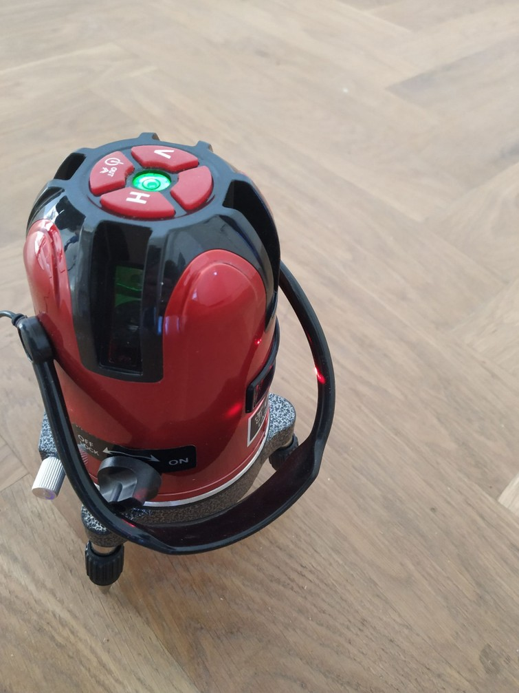 Laserwaterpas / laser waterpas