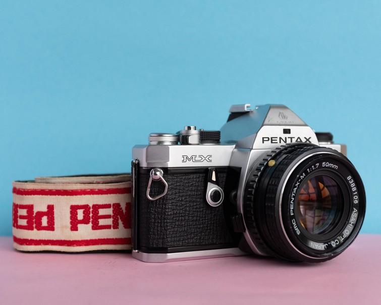 Analoge Film camera Pentax MX 35mm ( geen Canon AE-1 AE1 AE 1)