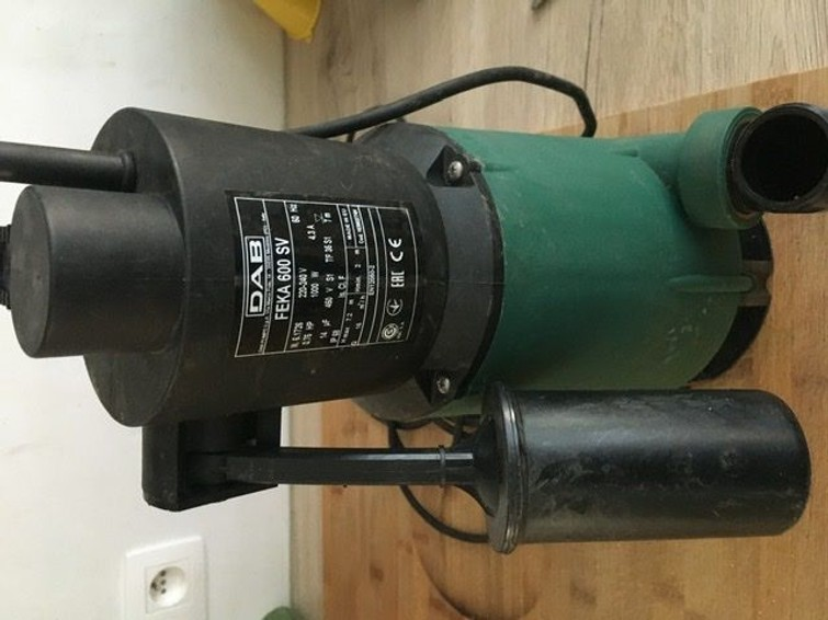 Vuilwaterpomp DAB FEKA 600 SV
