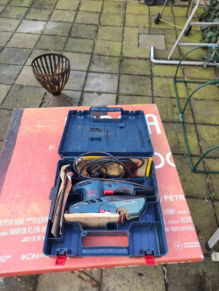 Bosch professionele Vlakschuurmachine