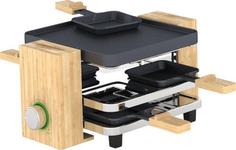 Gourmet/Raclette stel 4p.