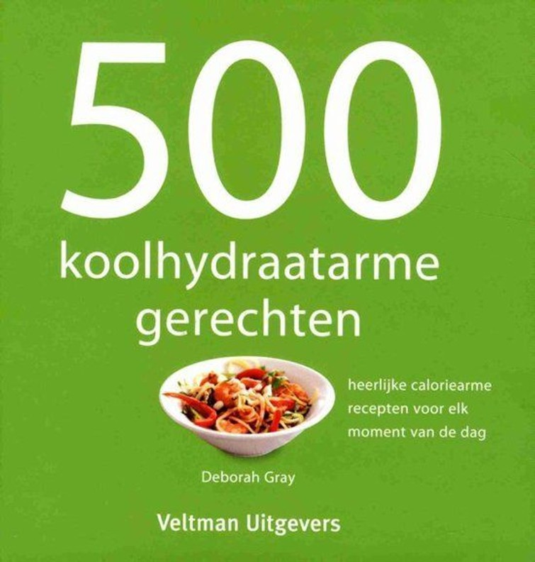 kookboek Koolhydraatarm gerechten