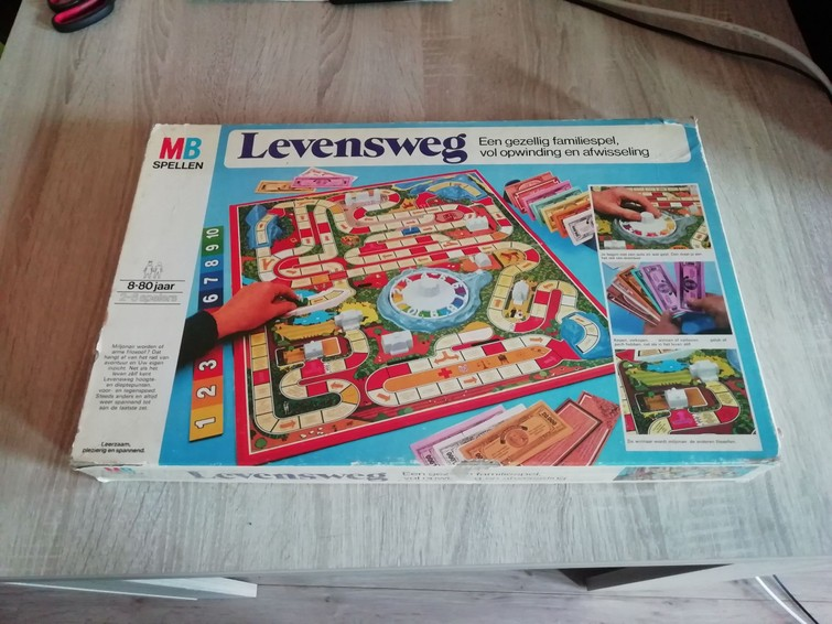 Levensweg - bordspel