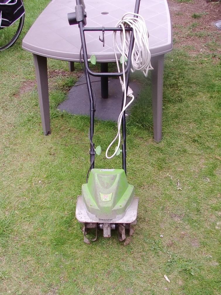 elektrische tuinfrees