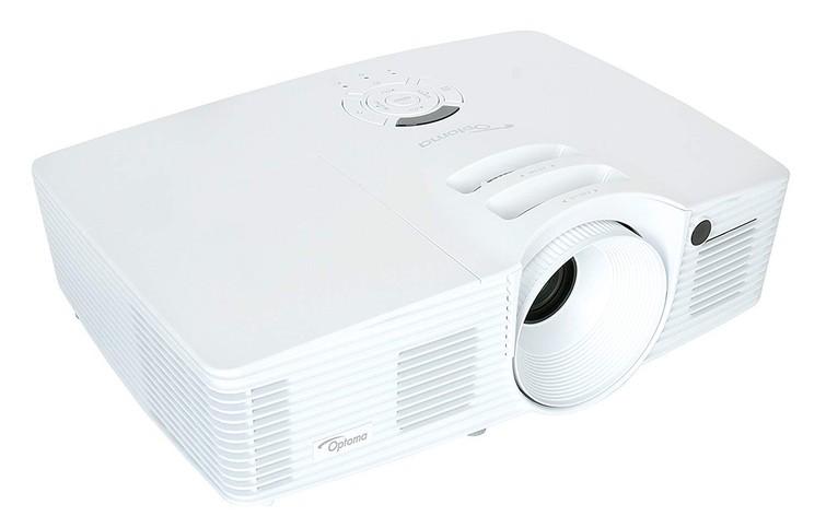 Optoma HD27: 1080P beamer met HDMI kabel & Apple verloop