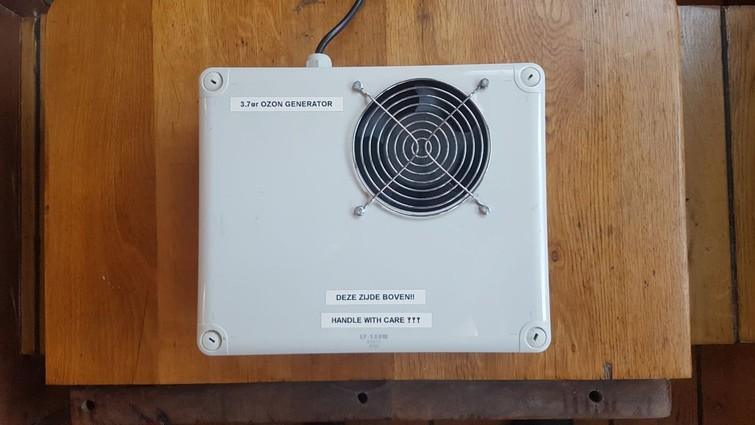 Ozon generator filter