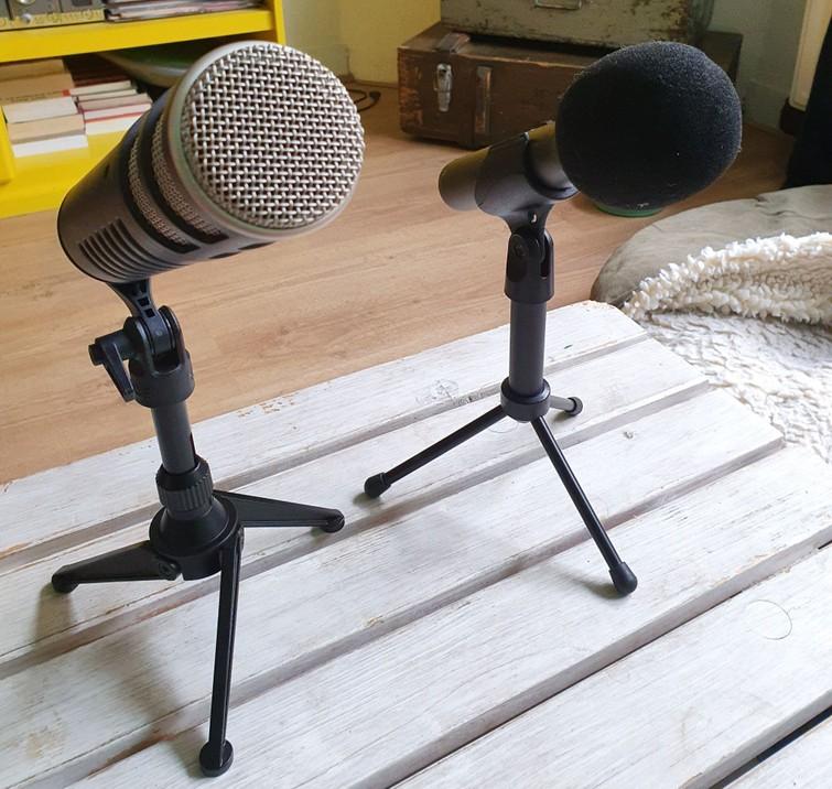 Verschillende microfoons