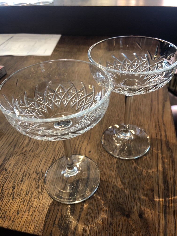 Cocktailglas, champagneglas