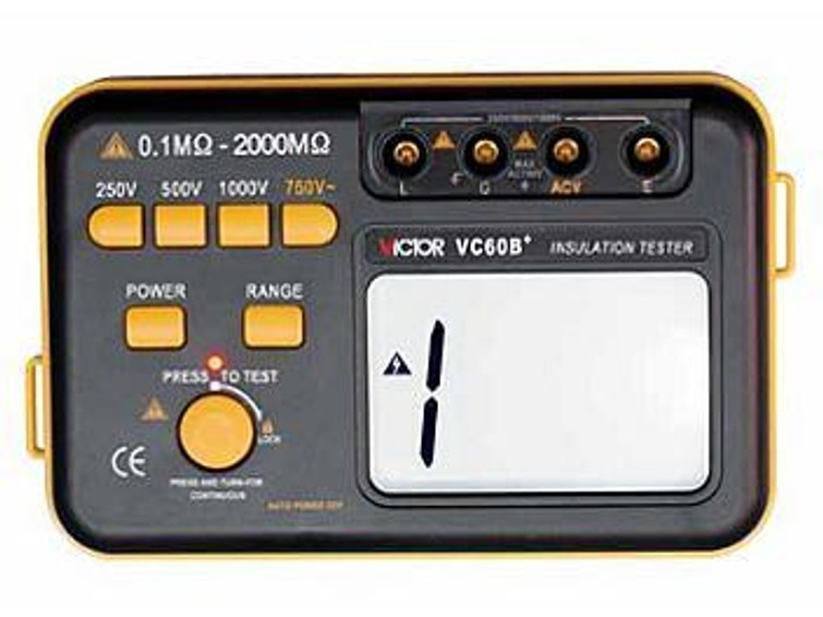 Isolatiemeter VICTOR VC60B